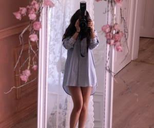 beautiful, camera, and dress image