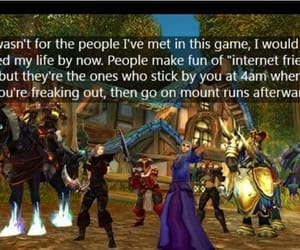 video games, warcraft, and wow image