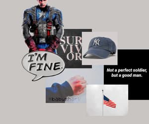 aesthetic, america, and cap image