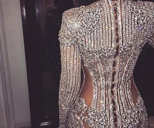 beauty, diamonds, and dress image