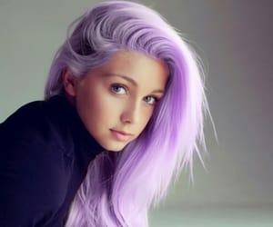 color, pastel, and hair image