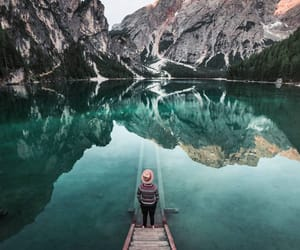adventure, mountains, and outdoors image