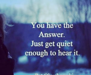 answer, life, and listen image