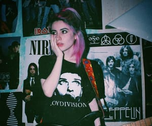 90's, bands, and colored hair image