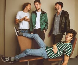 the 1975, george daniel, and ross macdonald image