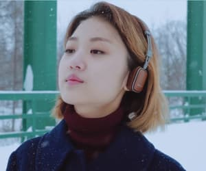 beautifull, girl, and winter image