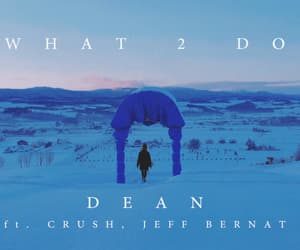 dean, girl, and winter image