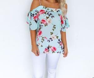 off the shoulder blouse image