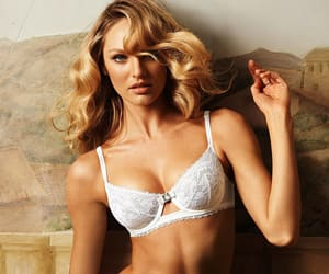 angel, lingerie, and blonde hair image