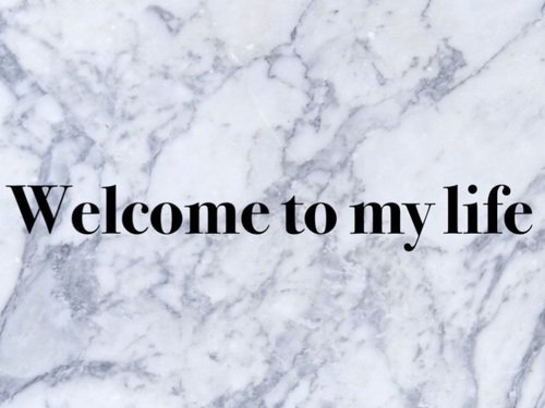 article and welcome to my life. image