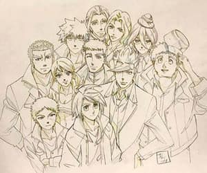 biscuit, mikazuki, and iron blooded orphans image