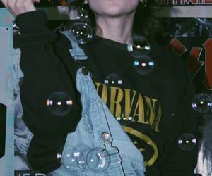 aesthetic, grunge, and nirvana image