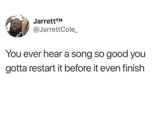 funny, good music, and meme image
