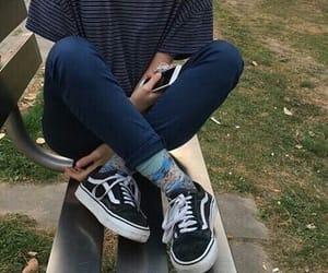 vans, tumblr, and grunge image
