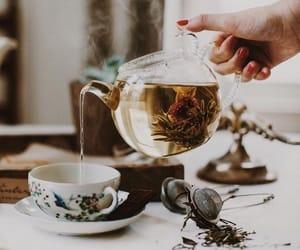 tea, drink, and food image