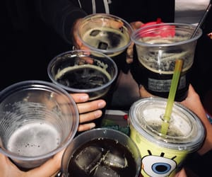 alcohol, grunge, and night image