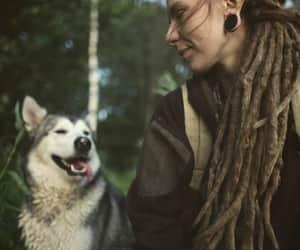 Chica, perro, and mascota image