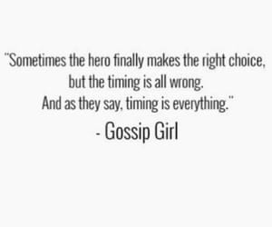 choice, gossip girl, and quotes image