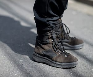 boots, brown, and brown shoes image