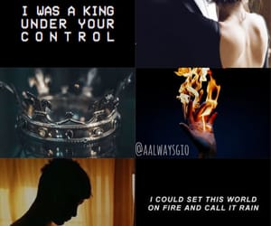 aesthetic, red queen, and cal image