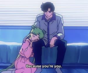 anime, usagi, and anime old image