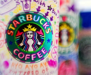 coffee, cool, and starbuks image
