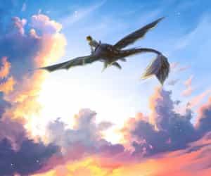 disney, dragons, and vikings image