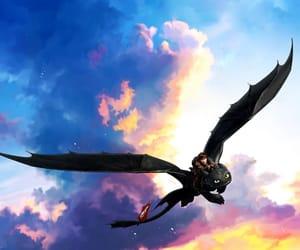 beautiful, childhood, and dragons image