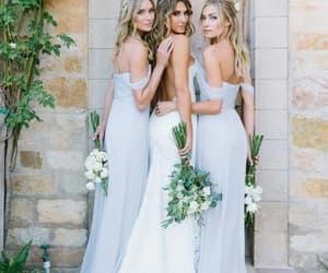 blue bridesmaid dress and summer bridesmaid dress image