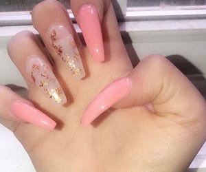 classy, claws, and pink image