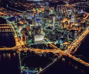 city, pittsburgh, and pennsylvania image
