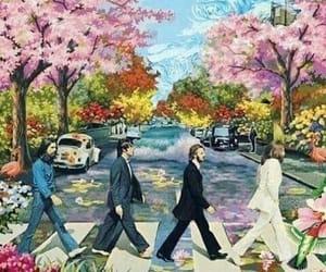 george harrison, hippie, and john lennon image