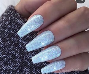 glitter, nails, and claws image