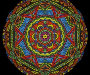 hand drawn, zen, and mandalas image