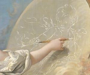 18th century, angel, and hand image
