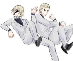 naki, tokyo ghoul, and hoguuro image