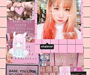 dreamcatcher, pink, and kpop image