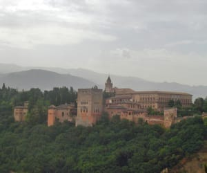 fortress, palace, and spain image