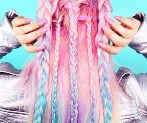 pastelhair, socute, and hairtutorial image