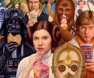 darth vader, LUke, and Skywalker image