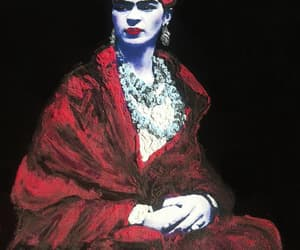 art to wear, Frida, and frida kahlo image