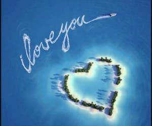 beach, sea, and we heart it image