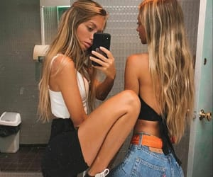 fashion, best friends, and friendship image