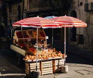 food, street, and FRUiTS image