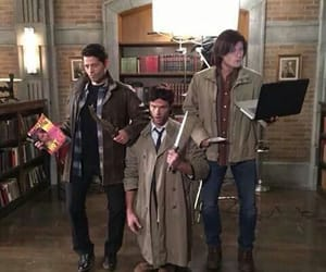 supernatural, castiel, and Jensen Ackles image