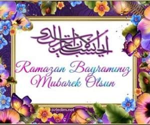 Ramadan, iyi bayramlar, and bayram kutlama image