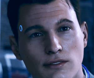 Connor, dbh, and gif image