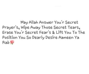 ameen, dua, and ramazan image