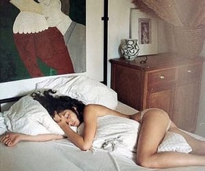 bedroom, girl, and relax image