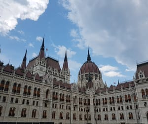 architecture, budapest, and building image